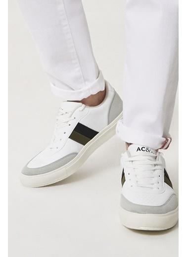 AC&Co / Altınyıldız Classics Casual Spor Sneaker Ayakkabı 4A2221100007 Beyaz